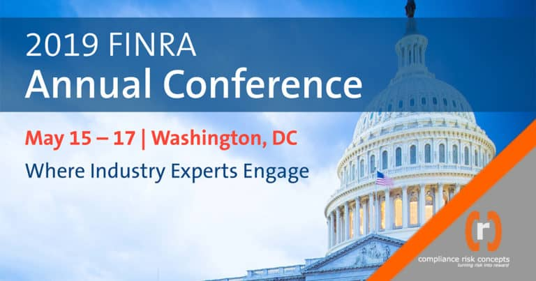 2019 Annual FINRA Conference